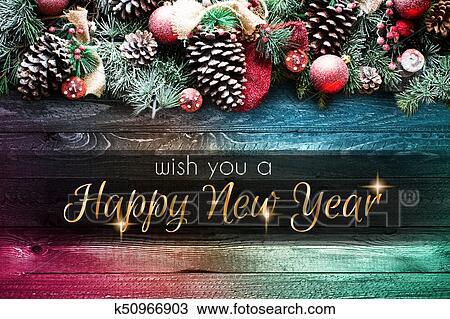 Dessin 2018 Bonne Annee Et Joyeux Noel Cadre A Neige Et