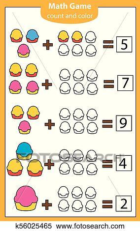 Mathematics workshhet. eduational game for children ...