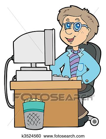 Businessman working at office cartoon png   Office cartoon, Motion design  animation, The office characters