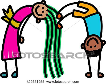 stock illustration of letter m kids k22651955 search clipart