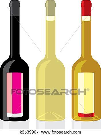 clip art of vinegar and olive oil bottles k3539907 search clipart rh fotosearch com Stihl Oil Bottles Motor Oil Bottle