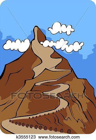 Montagne Dessin K3555123 Fotosearch