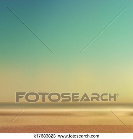 Kresba Letni Cas Plaz A More K17683823 Hledat Klipart