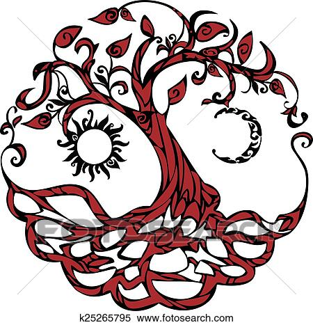 clipart of tree of life k25265795 search clip art illustration