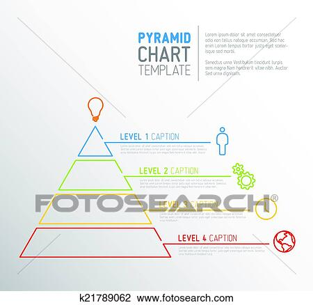 clipart of pyramid chart diagram template k21789062 search clip