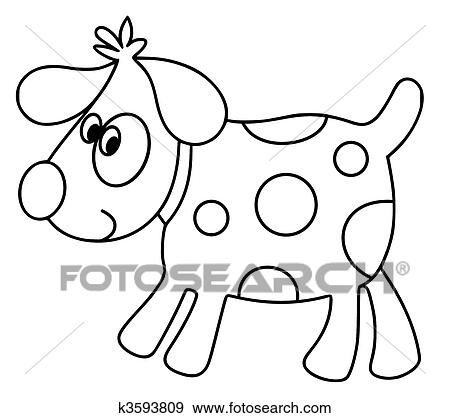 Stock Illustration Of Spot The Dog K3593809