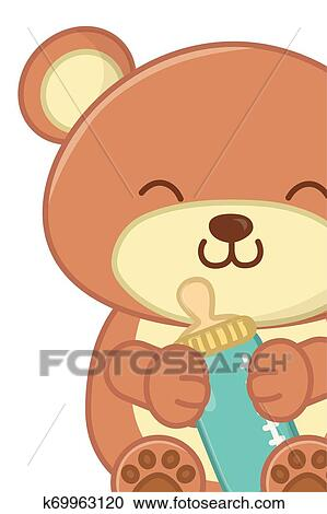 Cute Bear Illustration For Christmas And Winter Decoration, Background,  Christmas, Christmas Tree PNG and Vector with Transparent Background for  Free Download