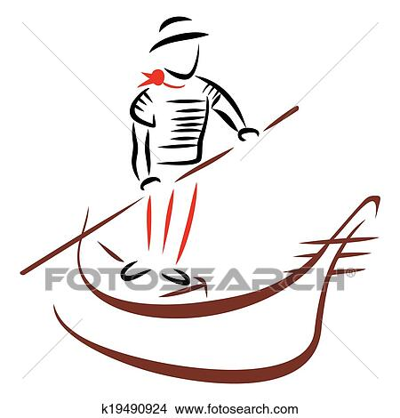 clipart of gondola ride k19490924 search clip art illustration rh fotosearch com italy gondola clipart