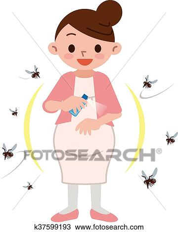 Download hd Scary Clipart Mosquito - Anti Mosquito Insect Bugs Repellent  Repeller Wrist - Png Download and use the fr… in 2020 | Free clip art, Bug  repellent, Anti mosquito