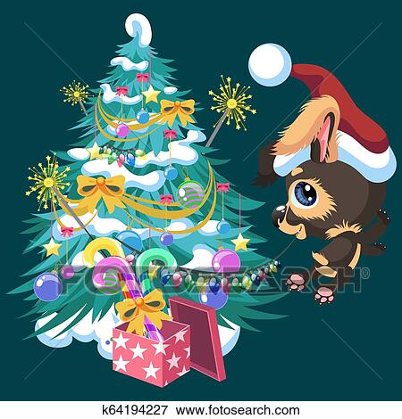 The Best Christmas Tree Cartoon Cute