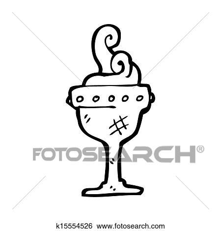 Dessin Tasse De Café Fumant banque d'illustrations - dessin animé, tasse fumante k15554526