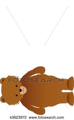 clipart urso marrom k3623972 busca de ilustrações clip art