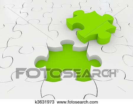 Dessin puzzle 3d rendu image k3631973 recherchez - Puzzle dessin ...