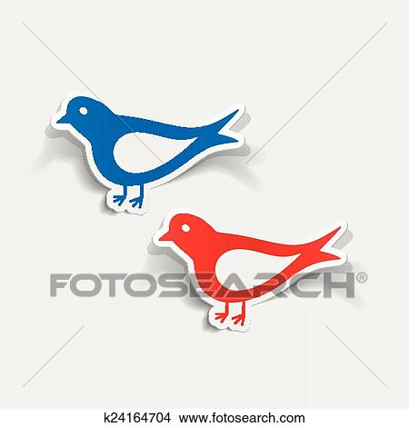 Clipart Realiste Conception Element Oiseau K24164704