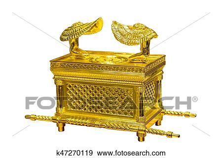 Stock Photograph Of The Ark Of The Covenant Jewish Religious Symbol