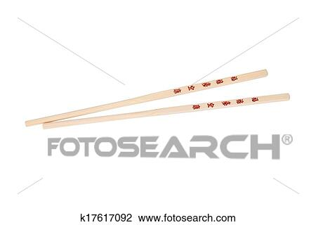 Stock Photo Of Chopsticks With The Chinesejapanese Symbols
