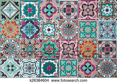 Dibujos Azulejos De Ceramica K26384604 Buscar Clip Art - Azulejos-con-dibujos