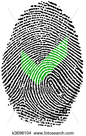 drawings of fingerprint check k3698104 search clip art rh fotosearch com fingerprint clip art png fingerprint tree clip art