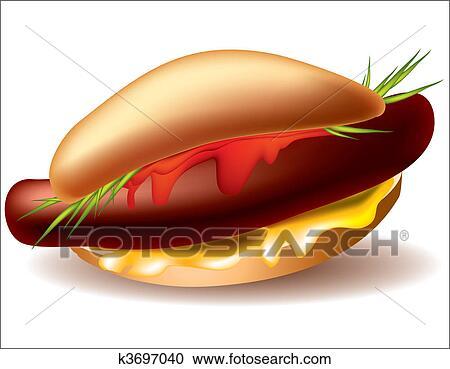 Icona salame stile cartone animato stile salame cibo