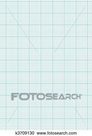 ورقة الرسم للبيان A4 الصفيحة Clipart K3709130 Fotosearch