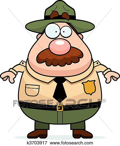 clip art of park ranger k3703917 search clipart illustration rh fotosearch com clip art parking clip art parking