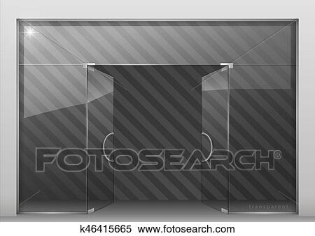 Shopping Mall Signage Clipart - Lizenzfrei - GoGraph