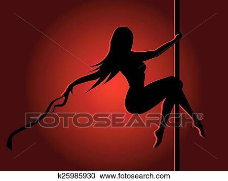 Grapic erotic dancers