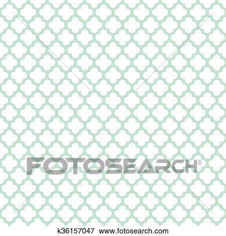 Clip Art Of Seamless Vintage Trellis Pattern K40 Search Delectable Trellis Pattern