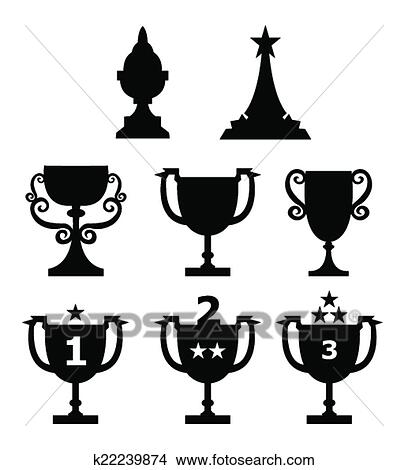 Clipart Of Trophy K22239874