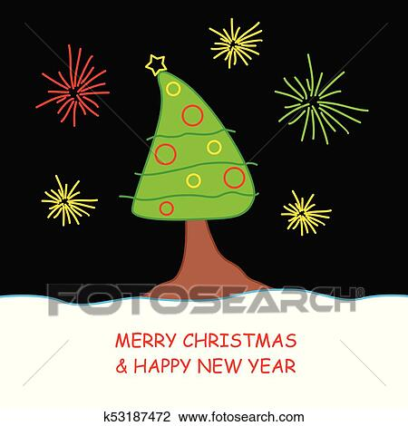 Karte Weihnachten.Weihnachten Kinder Tanne Karte Clipart