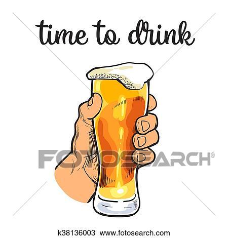 Disegno Boccale Vetro Di Birra Con Schiuma K38136003 Cerca