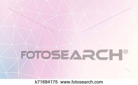 Modern Elegant Background With Polygonal Elements For
