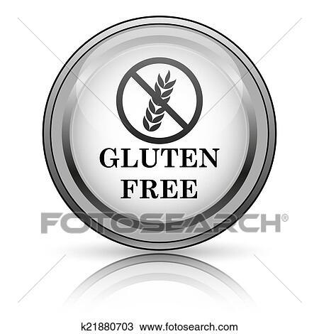 Gluten free icon Drawing