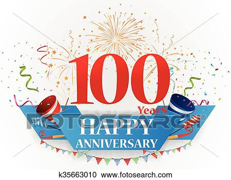 clipart happy anniversary celebration fotosearch search clip art illustration murals drawings