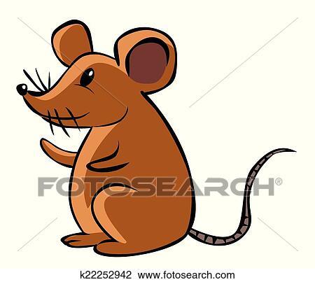 Rat Dessin Anime Clipart K22252942 Fotosearch