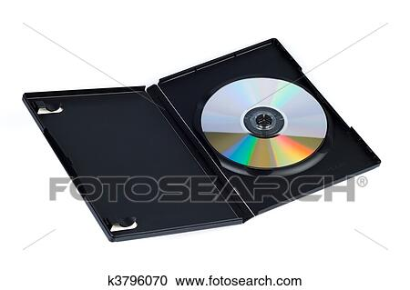 stock illustrations of cd case k3796070 search clipart rh fotosearch com People Clip Art DVD Clip Art