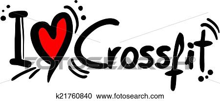 crossfit love clipart rh fotosearch com clipart crossfit clipart crossfit