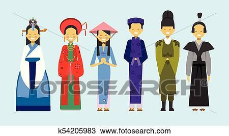 Asian clothing clip art pics 746