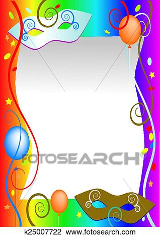clipart of carnival background k25007722 search clip art