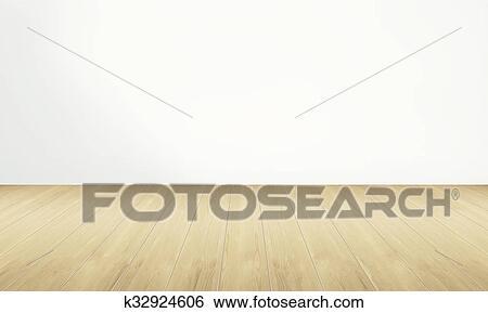 Colección de imágenes - habitación vacía, y, piso de madera, con ...