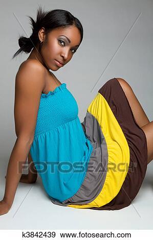 fille noire