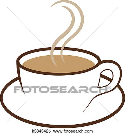Clipart tasse caf vecteur k3843425 recherchez des clip arts des illustrations des - Tasse de cafe dessin ...