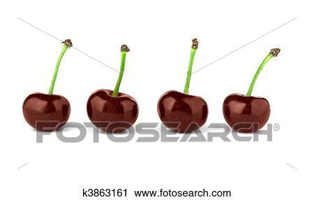 Clipart - cereza roja k3863161 - Buscar Clip Art, Ilustraciones de ...
