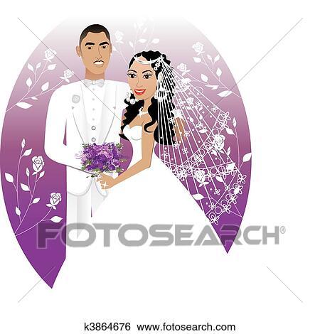 Noivinhos 5 Clipart K3864676 Fotosearch