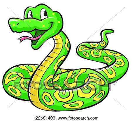 Dessin Animé Serpent clipart - serpent, dessin animé k22581403 - recherchez des clip arts