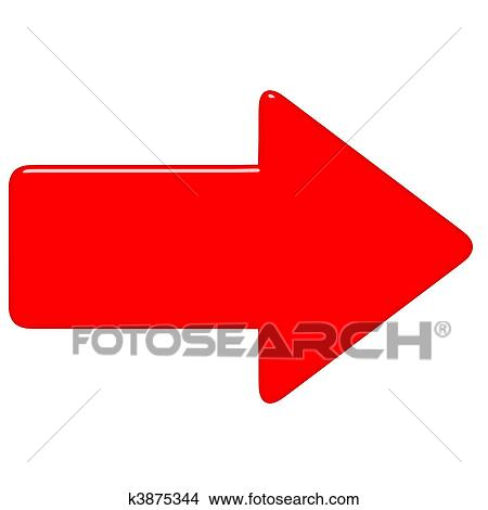 Disegni 3d freccia rossa k3875344 cerca illustrazioni for Disegno 3d free