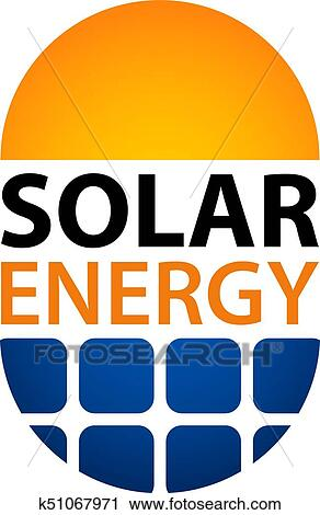 solar energy symbol clipart k51067971 fotosearch fotosearch