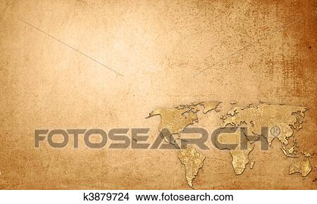 Drawings of world map vintage artwork perfect background with drawing world map vintage artwork perfect background with space for text or image gumiabroncs Gallery