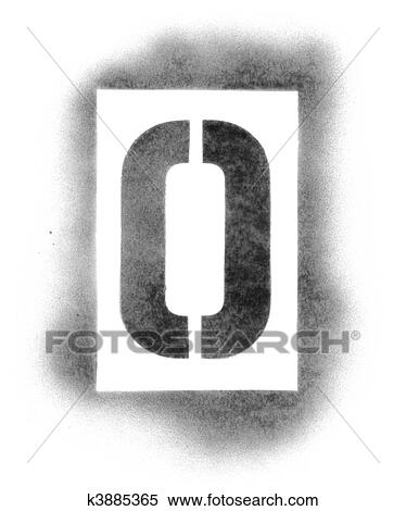 Stock image of stencil letters in spray paint k3885365 search stencil letters in spray paint spiritdancerdesigns Images
