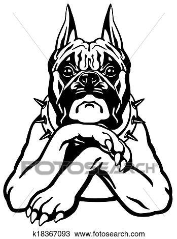 Boxer Hund Clipart